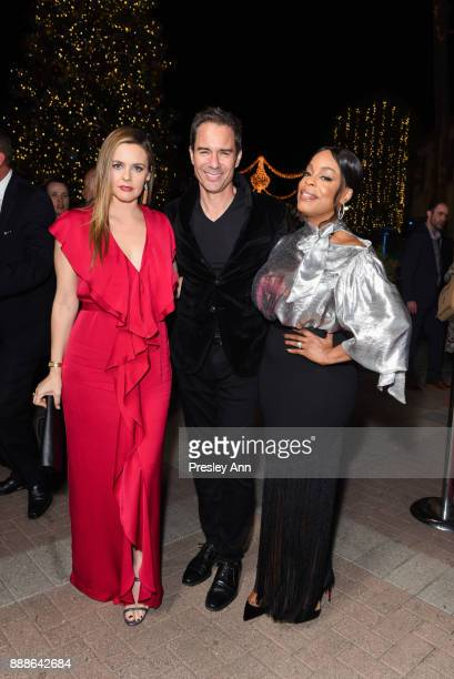 Alicia Silverstone Eric McCormack and Niecy Nash attend Hollywood Foreign Press Association hosts Annual Holiday Party and Golden Globes 75th...