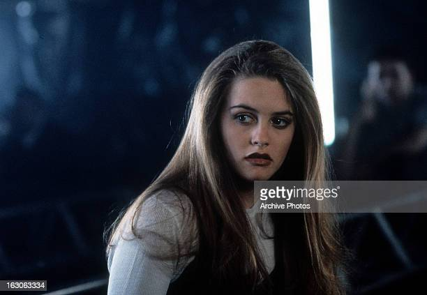 Alicia Silverstone in a scene from the film 'Hideaway' 1995