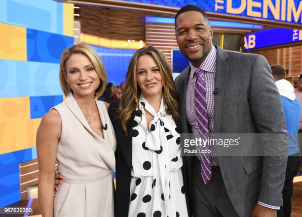 """Alicia Silverstone is a guest on """"Good Morning America,"""" on Tuesday, June 5, 2018 airing on the Walt Disney Television via Getty Images Television..."""