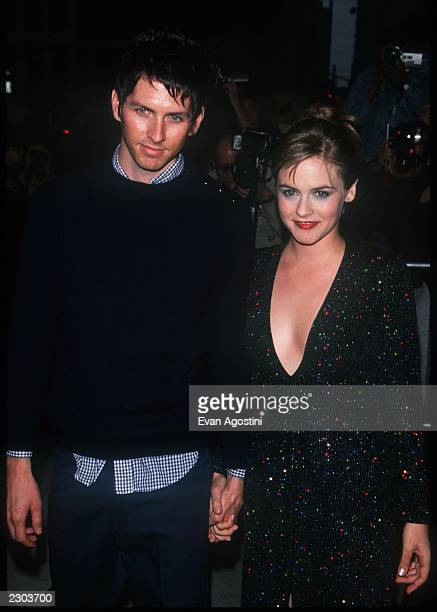Alicia Silverstone with boyfriend Chris Jarecki at the New York screening of Miramax's 'Love's Labour's Lost' at the Paris Theatre 06/05/00 Photo by...