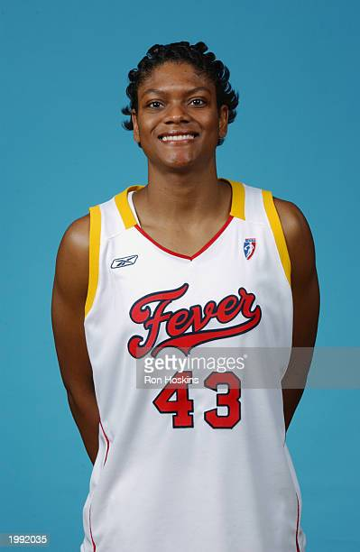 Alicia Thompson of the Indiana Fever during the Fever Media Day portrait shoot on May 6 2003 in Indianapolis Indiana NOTE TO USER User expressly...