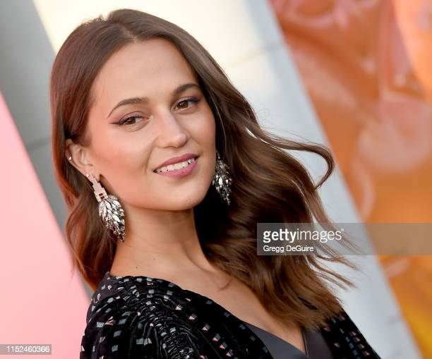 Alicia Vikander arrives at Louis Vuitton Unveils Louis Vuitton X An Immersive Journey at Louis Vuitton X on June 27 2019 in Beverly Hills California