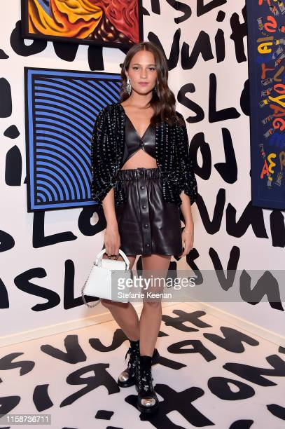 Alicia Vikander attends Louis Vuitton X Opening Cocktail on June 27 2019 in Beverly Hills California