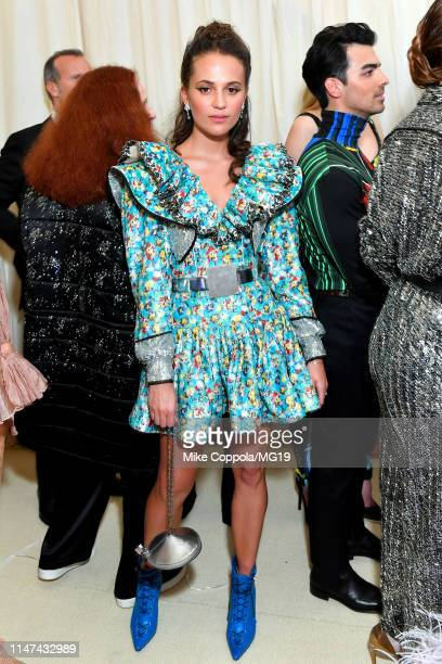 Alicia Vikander attends The 2019 Met Gala Celebrating Camp Notes on Fashion at Metropolitan Museum of Art on May 06 2019 in New York City