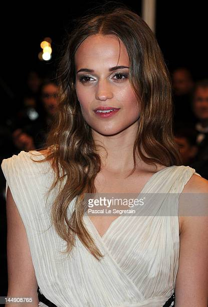 Alicia Vikander attends the 'Confession Of A Child' Photo Call during the 65th Annual Cannes Film Festival on May 20 2012 in Cannes France