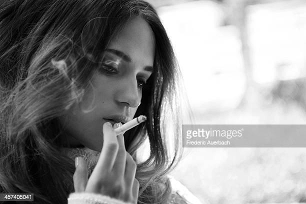 Alicia Vikander for Flaunt Magazine on July 1 2013 in Los Angeles California PUBLISHED IMAGE