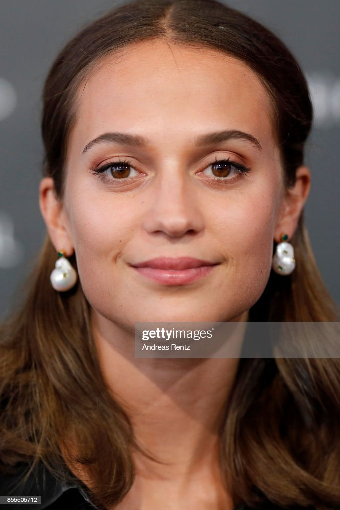 Alicia Vikander is seen at the 'Euphoria' press conference during the 13th Zurich Film Festival on September 29, 2017 in Zurich, Switzerland. The Zurich Film Festival 2017 will take place from September 28 until October 8.