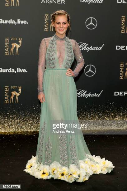 Alicia von Rittberg arrives at the Bambi Awards 2017 at Stage Theater on November 16 2017 in Berlin Germany