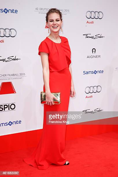 Alicia von Rittberg attends the German Film Ball 2015 on January 17 2015 in Munich Germany