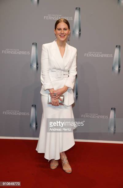 Alicia von Rittberg attends the German Television Award at Palladium on January 26 2018 in Cologne Germany
