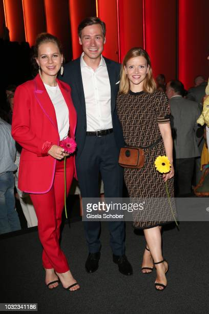 Alicia von Rittberg David Kross and Karoline Schuch during the final of the premiere of the film 'Ballon' at Mathaeser Filmpalast on September 12...