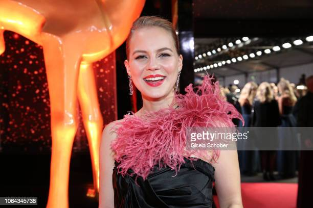 Alicia von Rittberg during the Bambi Awards 2018 Arrivals at Stage Theater on November 16 2018 in Berlin Germany