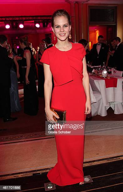 Alicia von Rittberg during the German Filmball 2015 at Hotel Bayerischer Hof on January 17 2015 in Munich Germany