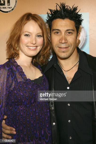 Alicia Witt and Gianni Capaldi during Grand Opening of Club Play at Club Play in Hollywood California United States