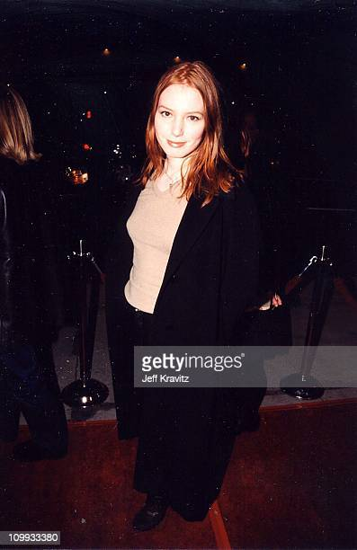 Alicia Witt at the premiere of Hurlyburly in Los Angeles 1998