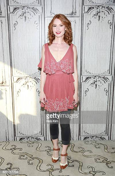 Alicia Witt attends AOL Build Speaker Series to discuss 'Nashville' at AOL Studios In New York on April 20 2016 in New York City