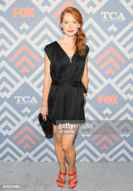 Alicia Witt attends the 2017 Summer TCA Tour 'Fox' on August 08 2017 in Los Angeles California