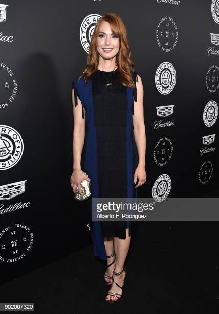 Alicia Witt attends The Art Of Elysium's 11th Annual Celebration on January 6 2018 in Santa Monica California