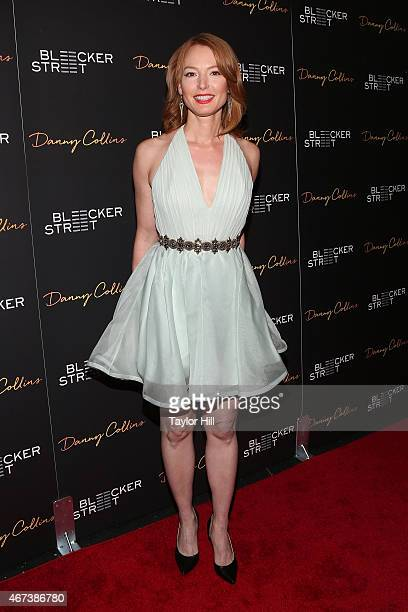 Alicia Witt attends the Danny Collins premiere at AMC Lincoln Square Theater on March 18 2015 in New York City