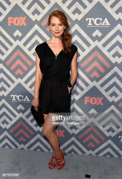 Alicia Witt attends the FOX 2017 Summer TCA Tour after party on August 8 2017 in West Hollywood California