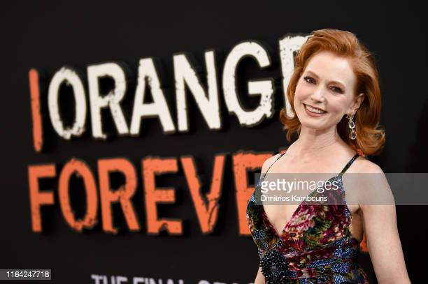 Alicia Witt attends the Orange Is The New Black Final Season World Premiere at Alice Tully Hall Lincoln Center on July 25 2019 in New York City