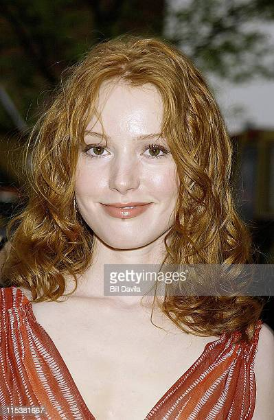 Alicia Witt during 2002 Tribeca Film Festival 'About a Boy' Premiere at Tribeca Performing Arts Center in New York City New York United States