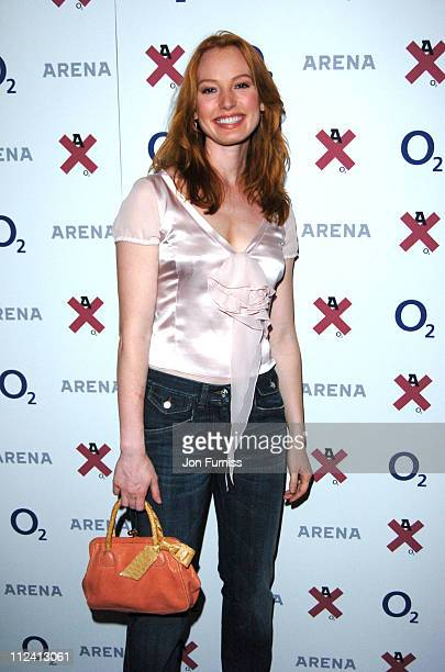 Alicia Witt during Arena O2 X Club Awards The Most Creative Men In Britain Award at Arena O2X Club in London Great Britain