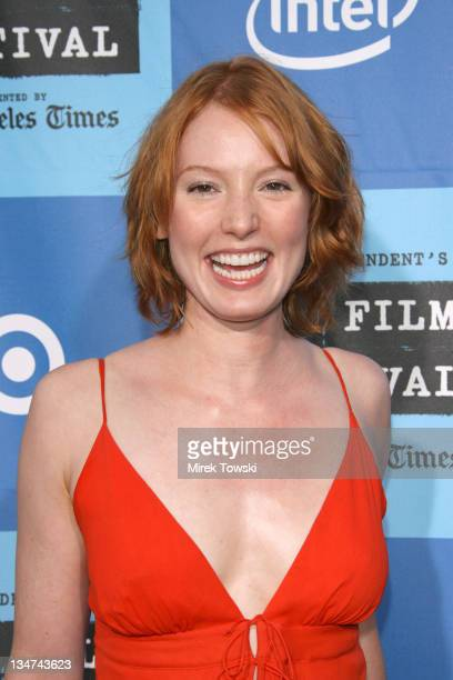 Alicia Witt during Film Independent's Los Angeles Film Festival Opening Night The Devil Wears Prada at Mann Village Theatre in Westwood California...