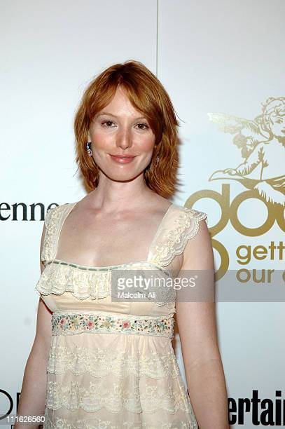 Alicia Witt during GOOD Music's 'Heavenly' GRAMMY After Party February 8 2006 at The Lot Studios in West Hollywood California United States