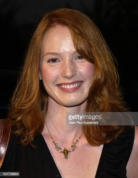 Alicia Witt during Movieline's 'Clips and Quips' at The Chrysler House at The Chrysler House in Westwood California United States