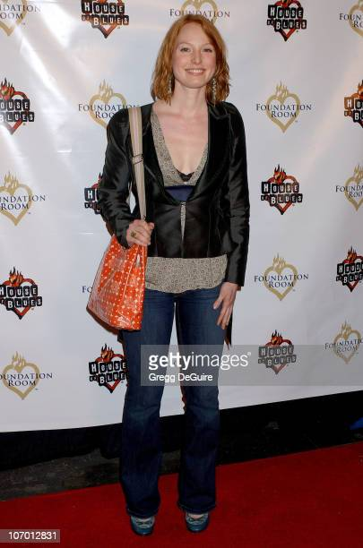 Alicia Witt during Operation Doggy Drop Benefiting Aid to Pets Devastated by Hurricanes Katrina and Rita Arrivals at House of Blues in West Hollywood...