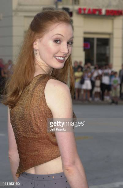 Alicia Witt during Replacements Premiere in Los Angeles California United States