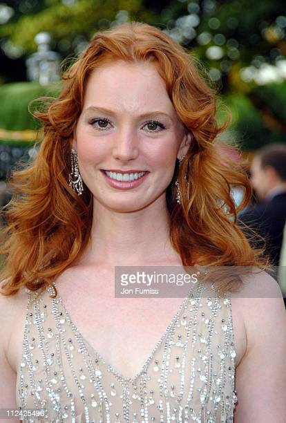 Alicia Witt during Serpentine Gallery Summer Party June 16 2004 at Serpentine Gallery in London Great Britain