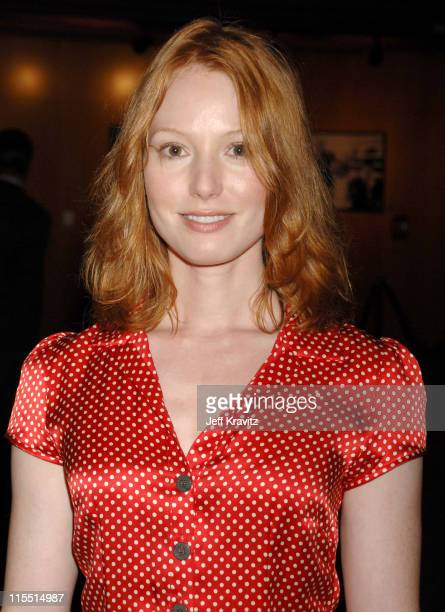 Alicia Witt during 'Shot in the Dark' Los Angeles Premiere Red Carpet at Director's Guild of America in Los Angeles California United States