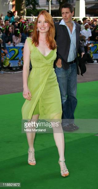 Alicia Witt during 'Shrek 2' Charity Premiere in Aid of Makeitbig at UCI Empire Leicester Square in London Great Britain