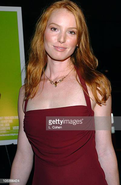 Alicia Witt during 'Sideways' Los Angeles Premiere Red Carpet at Academy of Motion Pictures Arts and Sciences in Beverly Hills California United...