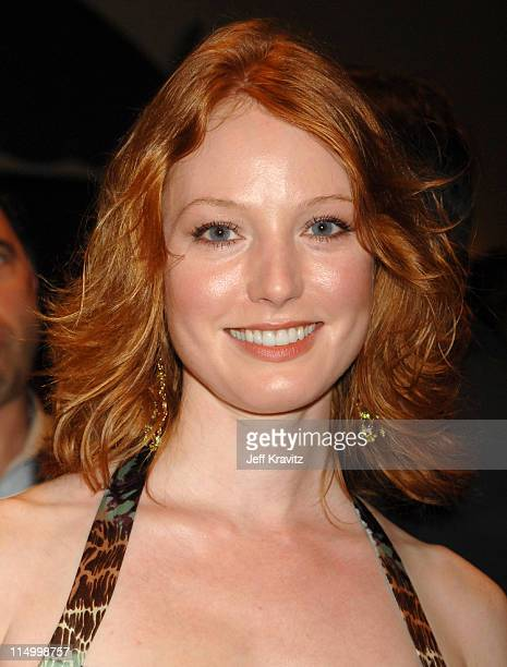 "Alicia Witt during ""The Invisible"" Los Angeles Premiere - Red Carpet at Bruin Theatre in Westwood, California, United States."