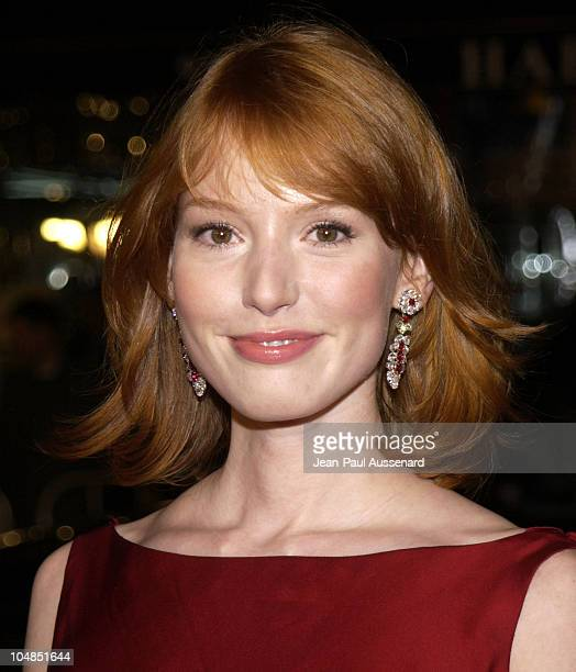 Alicia Witt during Two Weeks Notice Premiere Los Angeles Arrivals at Mann's Bruin Theater in Westwood California United States