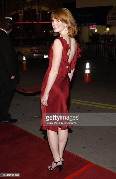 Alicia Witt during 'Two Weeks Notice' Premiere Los Angeles Arrivals at Mann's Bruin Theater in Westwood California United States