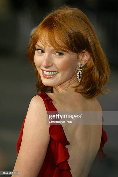 "Alicia Witt during ""Two Weeks Notice"" Premiere - Los Angeles at Mann Bruin Theatre in Westwood, CA, United States."