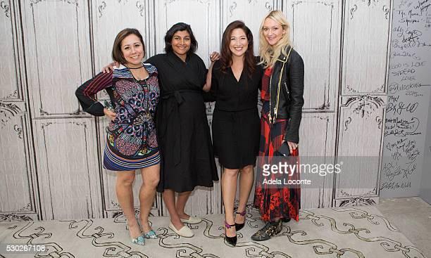 Alicia Ybarboat Shazi Visram Randi Zuckerberg and Zanna Roberts Rassi attend Celebrate Working Mothers With Alicia Ybarboat at AOL Studios In New...