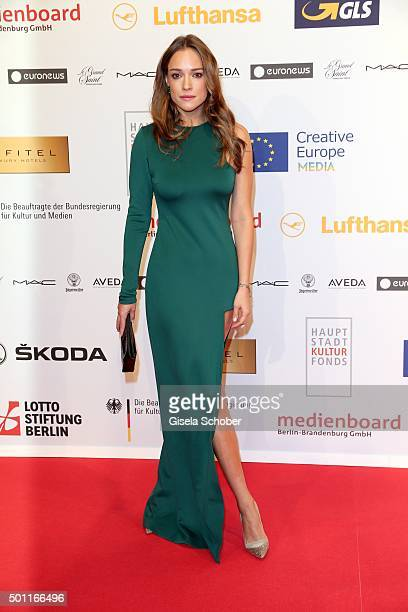 Alicja BachledaCurus during the European Film Awards 2015 at Haus Der Berliner Festspiele on December 12 2015 in Berlin Germany