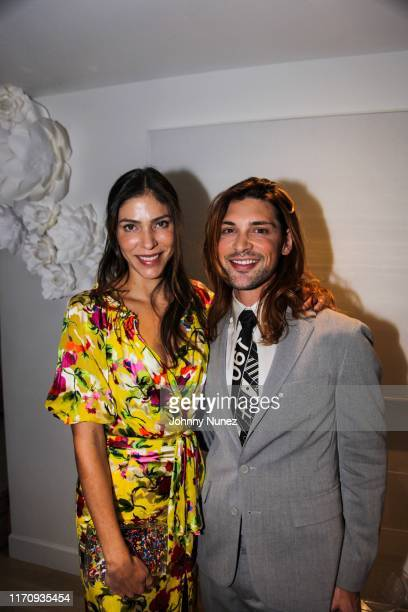 Alida Boer and Kyle Munoz-Ferrari attend Mercado Global Special Cocktail Gathering on August 28, 2019 in New York City.
