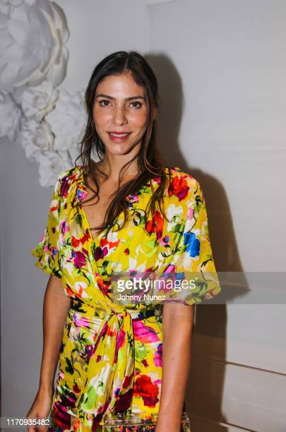 Alida Boer attends Mercado Global Special Cocktail Gathering on August 28, 2019 in New York City.