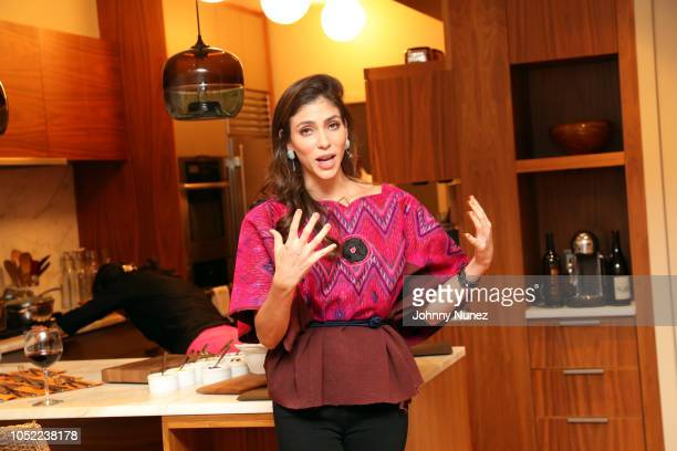 Alida Boer attends the Mercado Global Special Supporter Dinner at a Private Residence on October 15, 2018 in New York City.