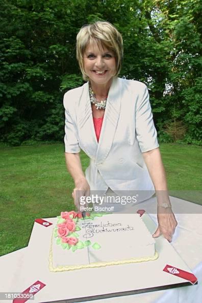 Alida Gundlach Geburtstagstorte Zum 60Geburtstag Torte Kuchen Nachrichtenfoto