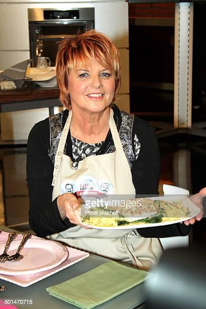 Alida Gundlach ZDFKochShow 'LaferLichterLecker' Hamburg Deutschland Europa Studio Kochshow Küche Moderatorin Promi BB CD PNr 030/2014