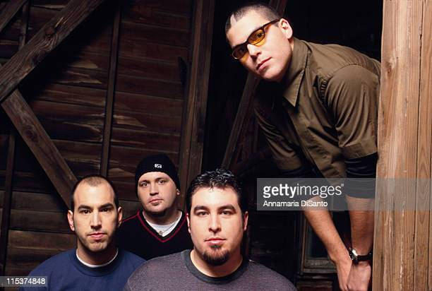 Alien Ant Farm during Alien Ant Farm Photo Session at Los Angeles in Los Angeles California United States