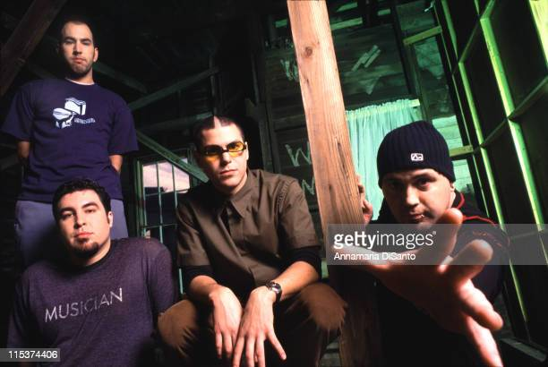 Alien Ant Farm during Alien Ant Farm Photo Shoot in Los Angeles California United States
