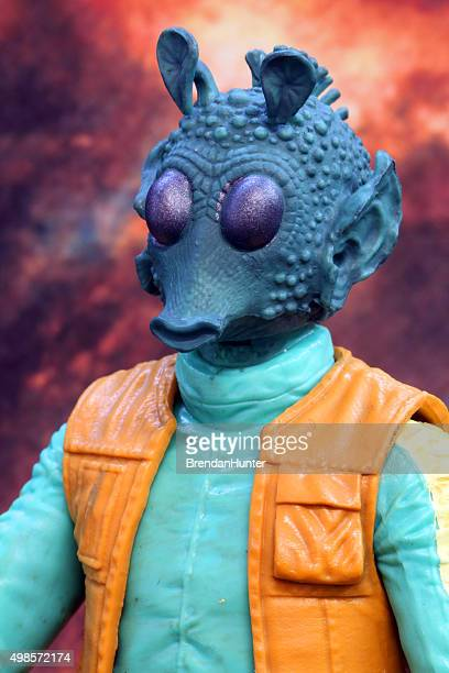 alien hunter - jabba the hutt stock pictures, royalty-free photos & images